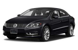 3/4 Front Glamour 2013 Volkswagen CC