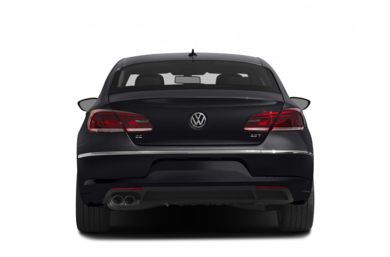 Rear Profile  2013 Volkswagen CC