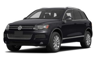 3/4 Front Glamour 2013 Volkswagen Touareg