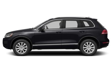 90 Degree Profile 2013 Volkswagen Touareg