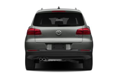 Rear Profile  2013 Volkswagen Tiguan