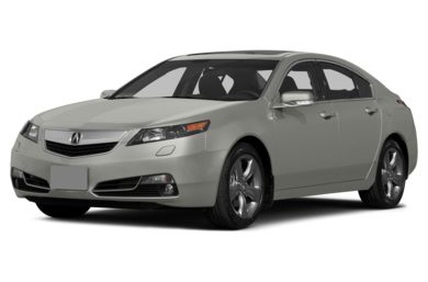 3/4 Front Glamour 2014 Acura TL