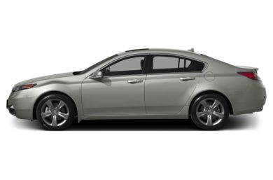 90 Degree Profile 2014 Acura TL