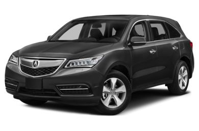3/4 Front Glamour 2014 Acura MDX