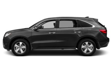 90 Degree Profile 2015 Acura MDX