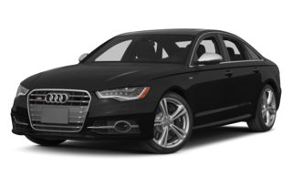3/4 Front Glamour 2014 Audi S6