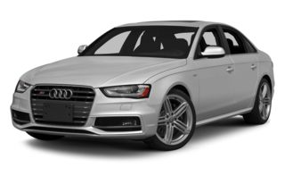 3/4 Front Glamour 2014 Audi S4