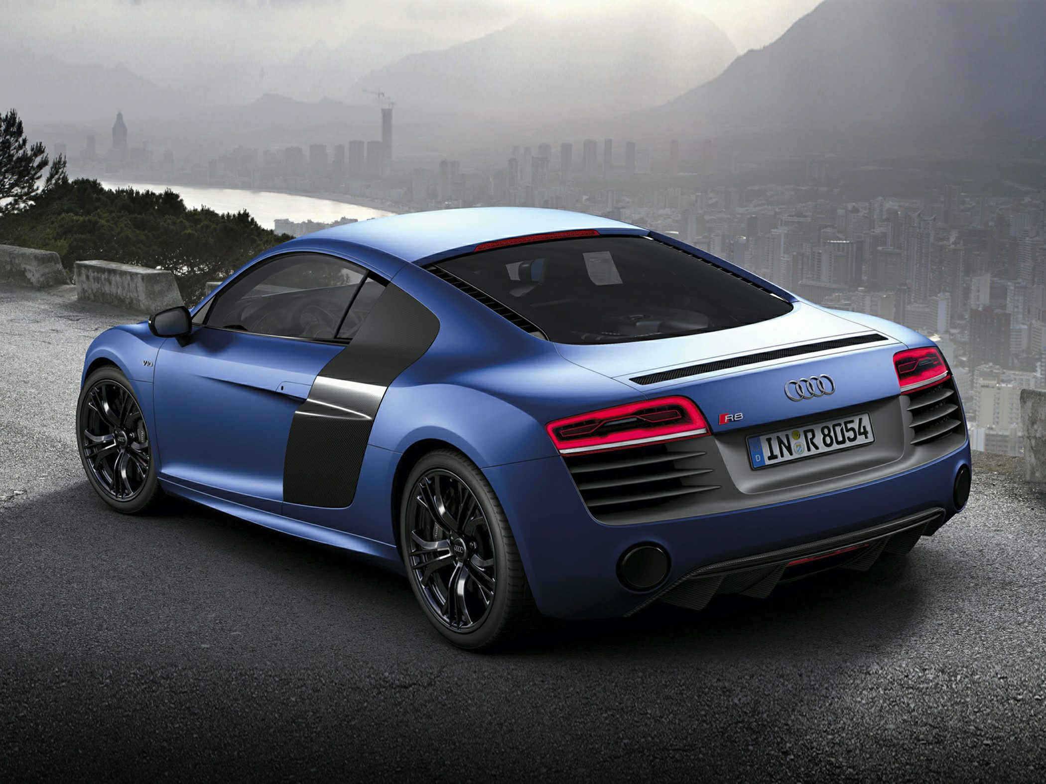 2015 Audi R8 Rear