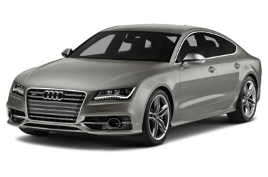 3/4 Front Glamour 2014 Audi S7