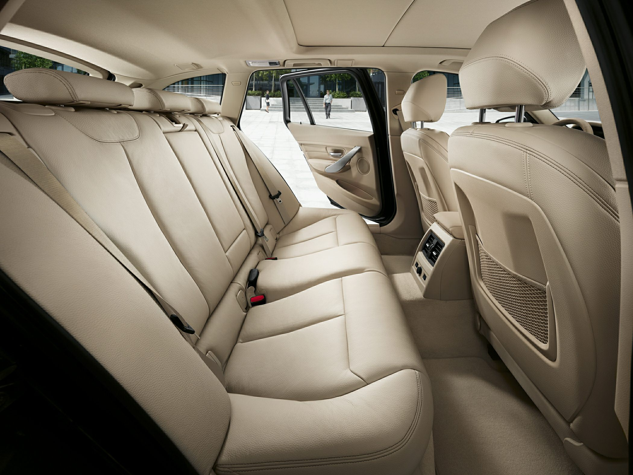 BMW 328d Back seat