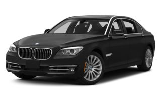 3/4 Front Glamour 2014 BMW 740