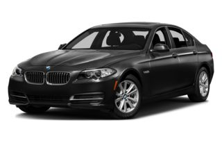 3/4 Front Glamour 2014 BMW 550