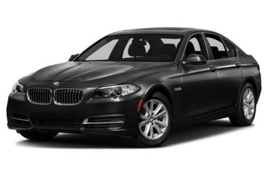 3/4 Front Glamour 2014 BMW 535
