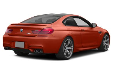 3/4 Rear Glamour  2014 BMW M6