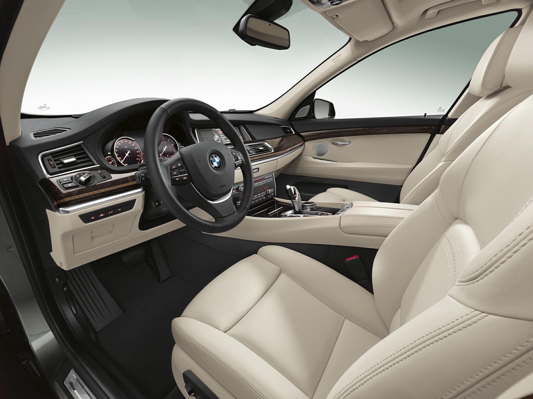 2014 BMW 550 Gran Turismo Glamour Interior