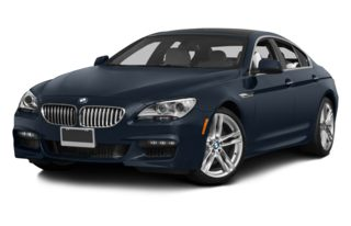 3/4 Front Glamour 2014 BMW 640 Gran Coupe