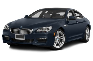 3/4 Front Glamour 2014 BMW 650 Gran Coupe