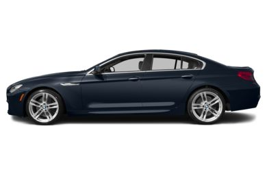 90 Degree Profile 2014 BMW 650 Gran Coupe