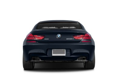 Rear Profile  2014 BMW 650 Gran Coupe