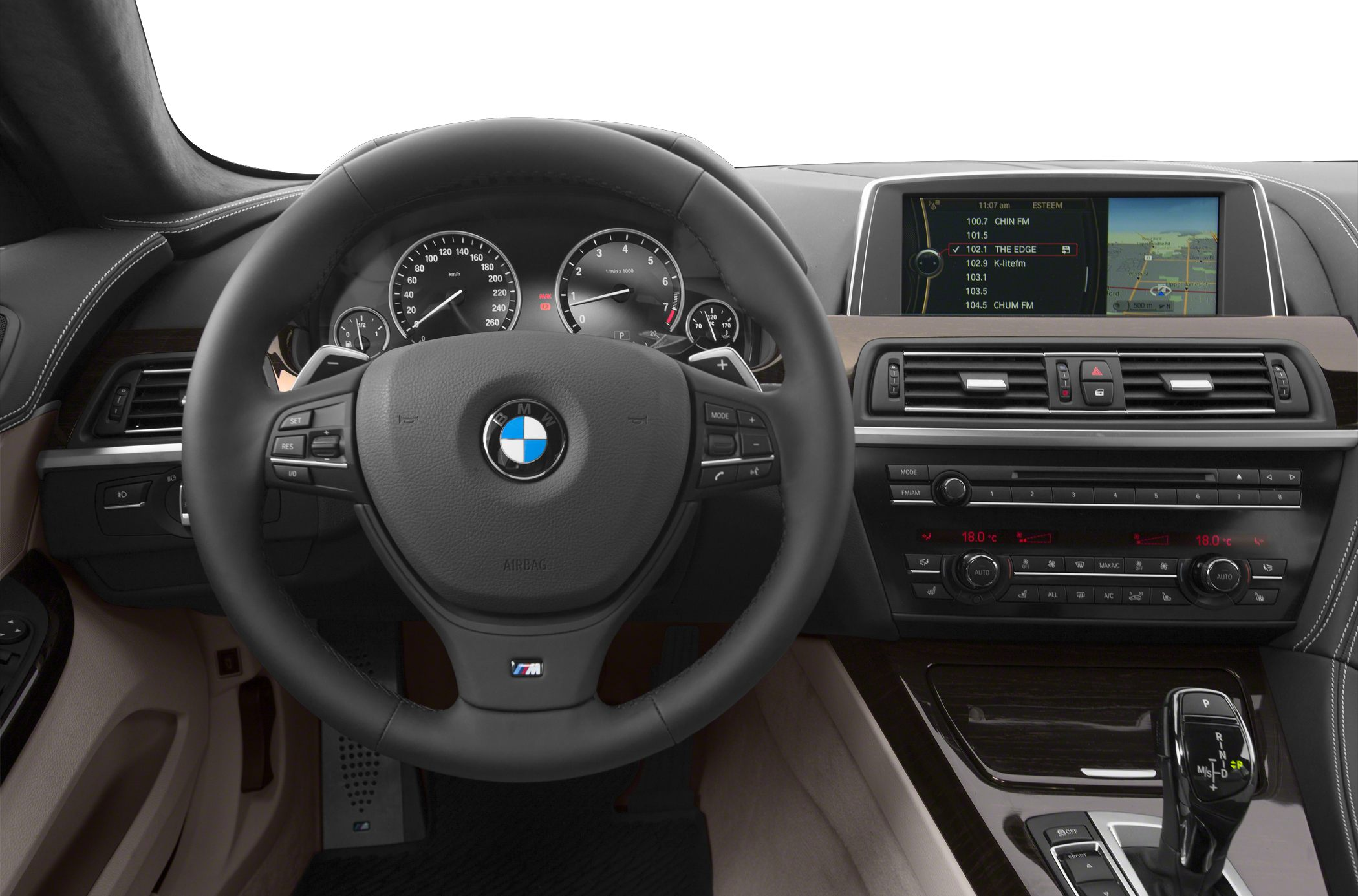 2015 BMW 650 Gran Coupe Interior