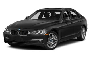 3/4 Front Glamour 2015 BMW 328d
