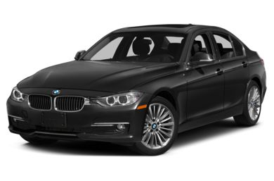 3/4 Front Glamour 2014 BMW 328d