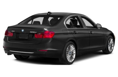 3/4 Rear Glamour  2014 BMW 328d