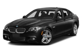 3/4 Front Glamour 2014 BMW 535d