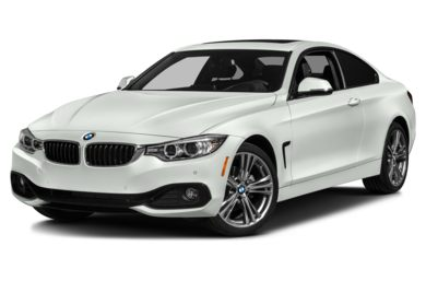 3/4 Front Glamour 2014 BMW 435