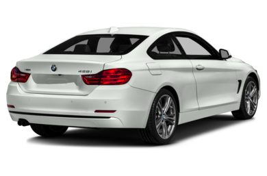 3/4 Rear Glamour  2016 BMW 428