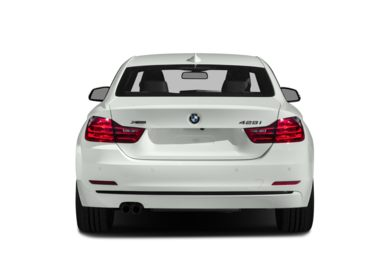 Rear Profile  2016 BMW 428