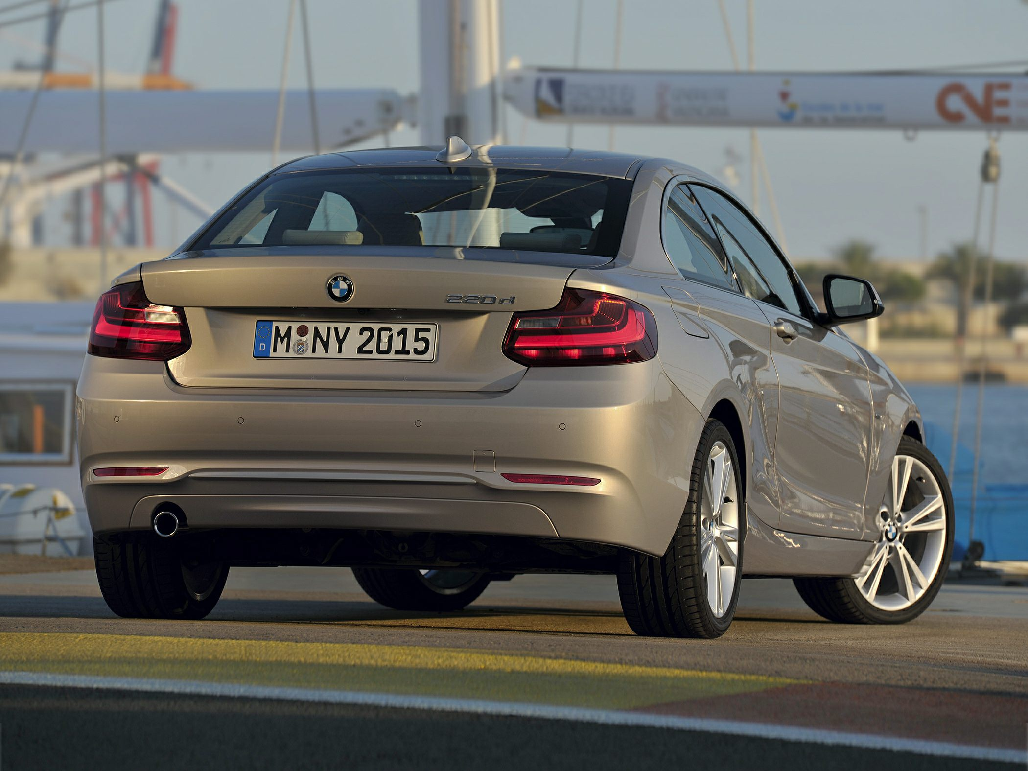 2014 BMW 228 Rear