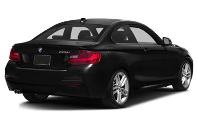 3/4 Rear Glamour  2015 BMW 228