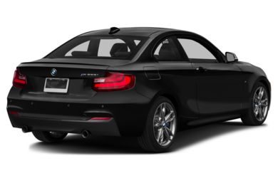 3/4 Rear Glamour  2015 BMW M235