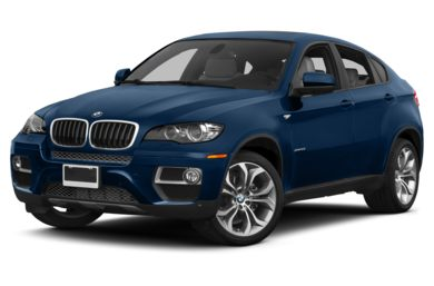 3/4 Front Glamour 2014 BMW X6