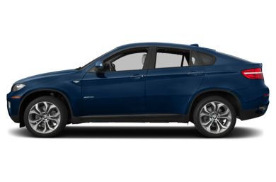 90 Degree Profile 2014 BMW X6