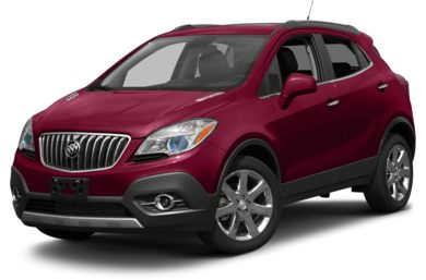 3/4 Front Glamour 2014 Buick Encore