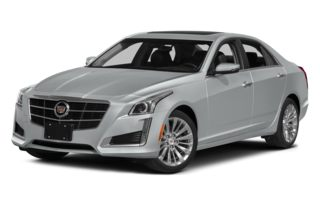 3/4 Front Glamour 2014 Cadillac CTS