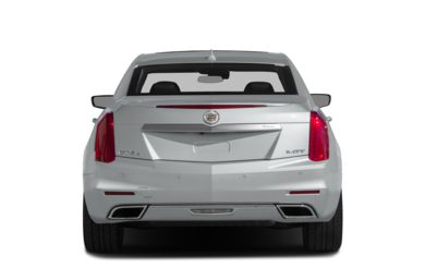 Rear Profile  2014 Cadillac CTS