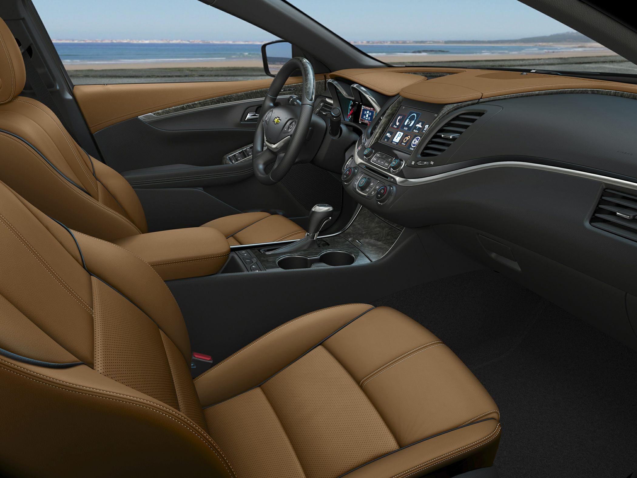 2015 Chevrolet Impala Front Seats