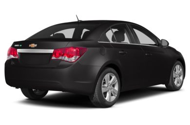 3/4 Rear Glamour  2014 Chevrolet Cruze
