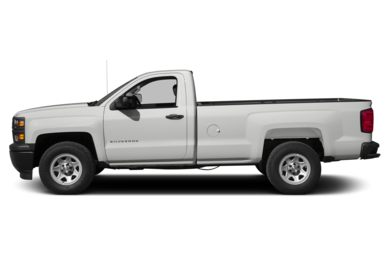 90 Degree Profile 2015 Chevrolet Silverado 1500