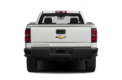 Rear Profile  2015 Chevrolet Silverado 1500
