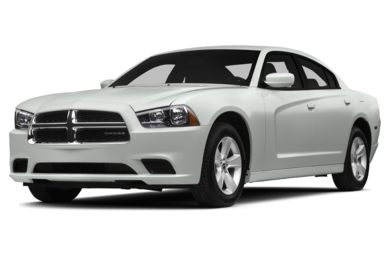 3/4 Front Glamour 2014 Dodge Charger