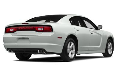 3/4 Rear Glamour  2014 Dodge Charger