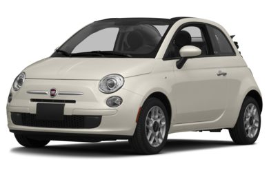 3/4 Front Glamour 2014 FIAT 500c