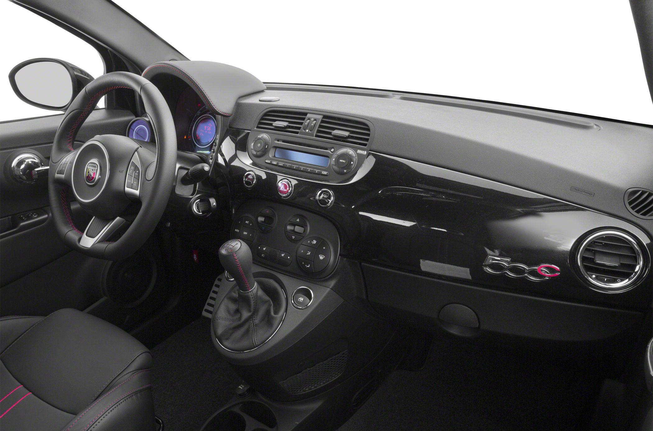 2015 Fiat 500c Interior