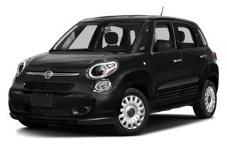 3/4 Front Glamour 2014 FIAT 500L