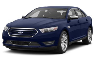 3/4 Front Glamour 2014 Ford Taurus