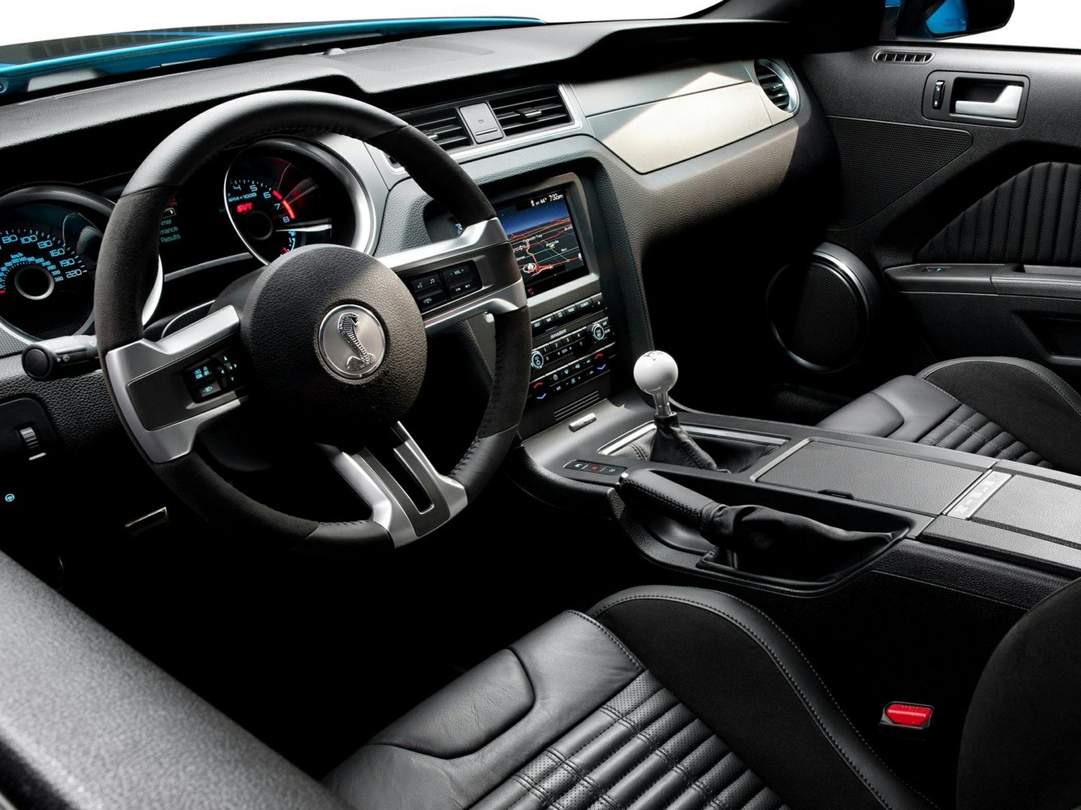 2014 Ford Shelby GT500 Interior